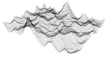 ノンスティックコーティング表面形状