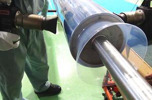 フッ素樹脂チューブの施工